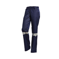 WORKIT Ladies Drill Work Pants with Tape
