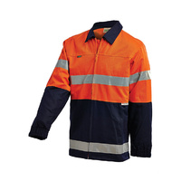WORKIT Cotton Drill Jacket with Reflective Tape