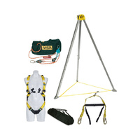 MSA Confined Space Kit w/ 3:1 45m Rescue Safe Rope Pulley System (15m Travel Distance)