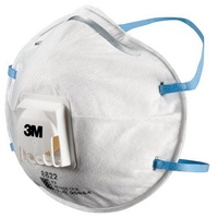 3M 8822 P2 Respirator with Valve (BOX OF 10)
