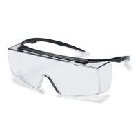 uvex super f OTG Overspec Safety Glasses (CLEAR) | BOX OF 10