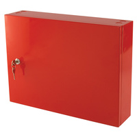MEGAFire Log Book Storage Cabinet (Red)