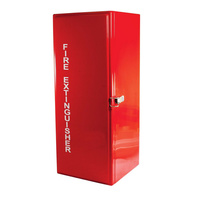 MEGAFire 9kg Fibreglass Fire Extinguisher Cabinet - Latch