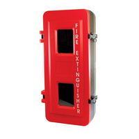 MEGAFire 4.5kg Heavy Duty Plastic Fire Extinguisher Cabinet