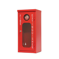MEGAFire 4.5kg Galvanised Metal Fire Extinguisher Cabinet