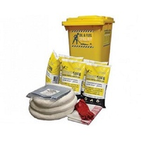 SPILL CREW Oil & Fuel Kit 240L Wheelie Bin (90L Capacity)