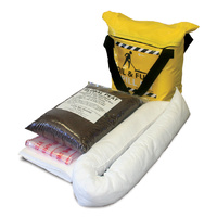 SPILL CREW Oil & Fuel Spill Kit | 21LT CAPACITY