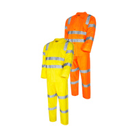 Tru X Back Biomotion Reflective Tape Rain Set Jacket & Trousers