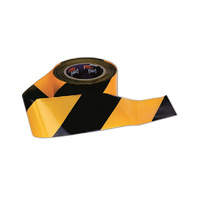 PRO CHOICE Barrier Tape Yellow/Black | CARTON OF 20
